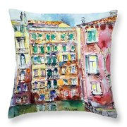 Venice-6-30-15 Throw Pillow