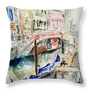 Venice-7-15 Throw Pillow