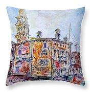 Venice 7-3-15 Throw Pillow