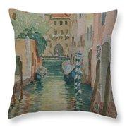 Venice Afternoon Throw Pillow