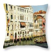 Venice Architecture Throw Pillow