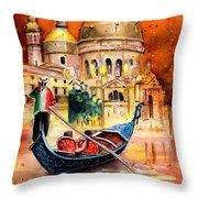 Venice Authentic Throw Pillow