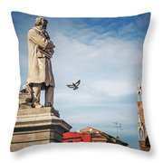 Venice - Campo Santo Stefano Throw Pillow
