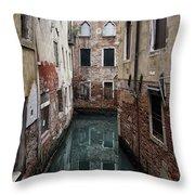 Venice - Canal Dreams  Throw Pillow