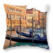 Venice Canalozzo Illuminated Throw Pillow