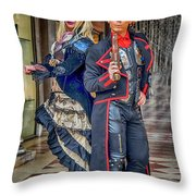 Venice Carnival Characters_dsc1364_02282017  Throw Pillow