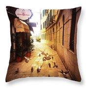 Venice, Castello Throw Pillow