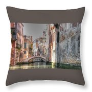 Venice Channelss Throw Pillow
