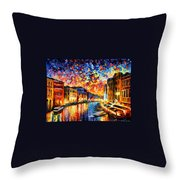 Venice - Grand Canal Throw Pillow