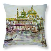 Venice Impression Iv Throw Pillow