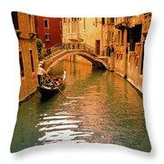Venice ,italy. Throw Pillow