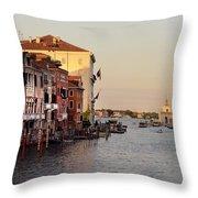 Venice Lover Throw Pillow