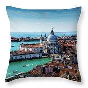 Eternal Venice Throw Pillow