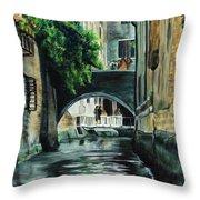 Venice Memory Throw Pillow