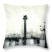 Venice October Throw Pillow