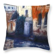 Venice Reflections Throw Pillow
