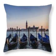 Venice - Sunset Throw Pillow