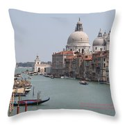 Venice The Beaufiful Throw Pillow
