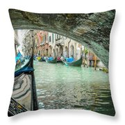 Venice Troll Throw Pillow