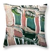 Venice Upside Down 3 Throw Pillow