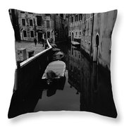 Venice View Throw Pillow