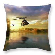 Venomous Sting Throw Pillow