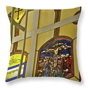 Ventana Dos Throw Pillow