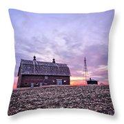 Ventura Barn Throw Pillow