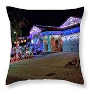 Ventura Christmas Throw Pillow