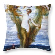 Venus Anadyomene 1872 Throw Pillow