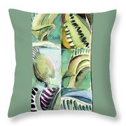 Venus Fly Trap Throw Pillow