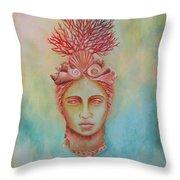 Venus Throw Pillow