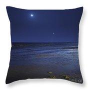 Venus Shines Brightly Throw Pillow