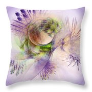 Venusian Microcosm Throw Pillow