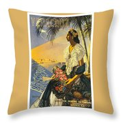 Veracruz Mexico Throw Pillow