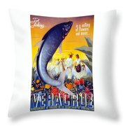 Veracruz  Throw Pillow