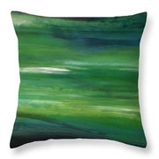 Verdant Throw Pillow by KR Moehr