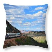 Verde Canyon Throw Pillow