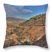 Verde Canyon Rr Throw Pillow