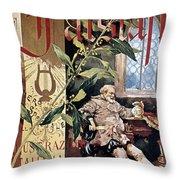 Verdi E Il Falstaff Throw Pillow
