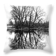 Verge Of Spring Throw Pillow