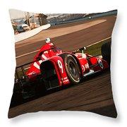 Verizon Indycar Series - 3 Throw Pillow