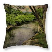 Vermont And Rural Beauty Throw Pillow