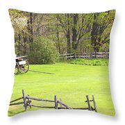 Vermont Buck Board Throw Pillow