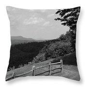Vermont Countryside 2006 Bw Throw Pillow