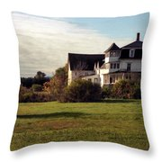 Vermont Farmhouse Throw Pillow