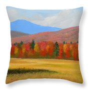 Vermont Haven Throw Pillow