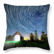 Vermont Starry Night Throw Pillow
