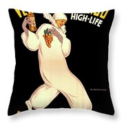 Vermouth Bianco Throw Pillow