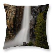 Vernal Falls Throw Pillow